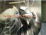 Stock turbocompresseur coeur de la roue de compresseur de billettes pour DAF 13879700009 Navistar chariot