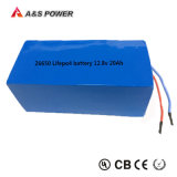 Fábrica de Ios 26650 LiFePO4 battery 12.8V 7Ah LiFePO4 Pilas Recargables
