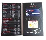 Карточка почты изготовленный на заказ экрана LCD произведения искысства видео-