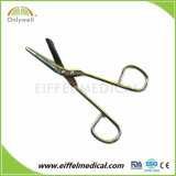 Tesoura cirúrgica da atadura médica da gaze do aço inoxidável