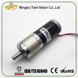 45mm 12V CC Motor para el monitor eléctrico con el reductor de engranajes