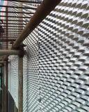 Weißes Farben-Aluminium erweitertes Ineinander greifen-Panel für Außenaufbau
