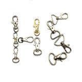 Crochet chaud de rupture d'émerillon d'animal familier d'acier inoxydable de vente pour les accessoires à chaînes de sac (HSG001)