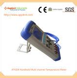 TFT 확실하 색깔 전시 전자 육류 온도계 (AT4204)