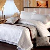 セットされるホテルのコレクション80s 3cmの縞の綿の寝具(JRC270)