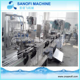 Pequeña capacidad lavado con agua de botella de plástico automática Máquina Tapadora de llenado