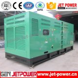 générateur silencieux refroidi à l'eau de moteur diesel de 500kVA Doosan