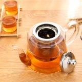 Бак чая горячего чайника ясности сбывания стеклянного зацветая с Infuser
