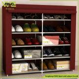 Crémaillère d'intérieur compressible de chaussure de modèle moderne d'étagère de chaussures grande