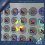 Matériau holographique hologramme coloré autocollant d'impression
