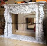 Camino di pietra della natura di marmo della Cina per la decorazione domestica