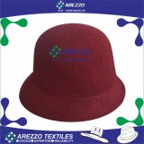 女性Winter Woolおよびポリエステルバケツの帽子(AZ048)