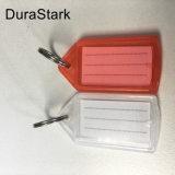 Etiqueta de chave redondos de plástico/ Chaveiros
