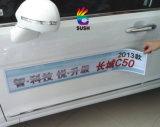 Изготовленный на заказ съемные делают напечатанный лист водостотьким стикера автомобиля магнитный (SS-MS-1)