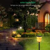 96 LED-flackernde Flamme-Solarlichter imprägniern im Freientanzen-Flamme-Fackel-Lichter für Garten-Patio-Yard-Bahn