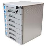 Tavolo che chiude il Governo a chiave di memoria d'argento dell'ufficio dei cassetti di colore 7 del metallo