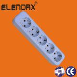 IEC60884 5-Way Extensions-Netzkabel-Kontaktbuchse (E8005E)