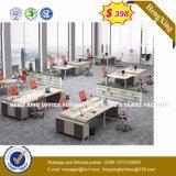 나무로 되는 멜라민 MDF 행정상 테이블 현대 사무용 가구 (HX-8NR0376)