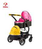Boa qualidade, estilo e mais, carros de bebê do Dois-Assento da Elevado-Segurança