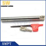 Tibia di macinazione Anti-Shock solida di CNC del carburo cementato/supporto conico/barra noiosa alesati di Exten