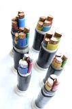 Yjv32 4+1 le memorie XLPE hanno isolato il cavo elettrico corazzato sottile inguainato PVC del filo di acciaio