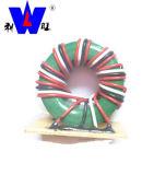Провод таблицы расцветки катушки кольца феррита плоским изолированный индуктором