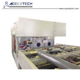Tubo de drenagem de PVC da linha de produção