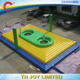 Pallavolo gonfiabile gigante Playgroud/campo esterno di pallavolo gonfiabile/stuoia di salto aria di sport