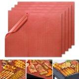 Stuoia del BBQ del Teflon di colore rosso PTFE