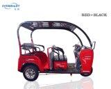 3 elektrischer Mobilitäts-Roller Trike, des Rad-48V800W elektrisches untaugliches Dreirad 45ah mit Windschutzscheibe