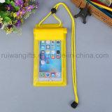 Bolsa impermeable del PVC para el teléfono móvil, bolso impermeable del PVC para los regalos promocionales