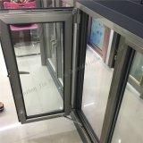 マルチ開始様式アルミニウム二重ガラスの開き窓および日除けのWindows