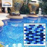 De hete Tegels van het Zwembad van het Mozaïek van het Glas van de Verkoop Blauwe