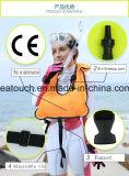 Praticare il surfing portatile di galleggiamento del colpo della bocca della maglia di vita della maglia di marca di vita della maglia di nuoto professionale gonfiabile resistente su ordinazione della presa d'aria