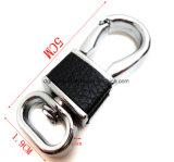 Vente à chaud en acier inoxydable pivotant Pet mousqueton pour sac de la chaîne d'accessoires (HSG0005)