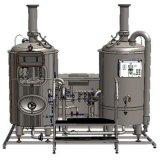 Mini máquina de la cerveza de barril de cuba de puré de la cervecería 5bbl