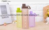 Bottiglia di acqua esterna di plastica di stile del quadrato del PC variopinto creativo del commestibile