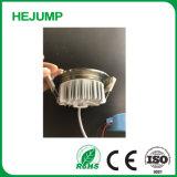 7W antirreflejos resistente al agua IP44 Fundición a presión regulable Downlight LED
