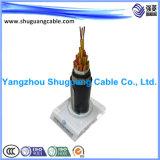 Kohle Ming Kabel mit Belüftung-Isolierung/Hülle/dick dem Stahldraht gepanzert