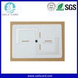 書き込み可能な反金属資産管理のための再使用可能な陶磁器UHF RFIDの札