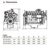 Terminar o motor para Deutz Bf6m2012