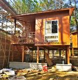 Bastidor de la estructura de acero modulares Paneles sándwich Villa Chalet/Casa