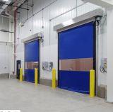 La industria de alta velocidad rueda para arriba la puerta con el certificado del Ce
