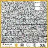 カスタム自然で白い灰色G655の花こう岩の台所カウンタートップ(流しと)