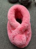 Netter Winter-warmer Kaninchen-Pelz-Schal für Dame