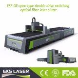 Precio de la cortadora del laser del CNC de la fibra de la hoja de metal del laser de Eks