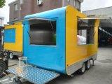 De mobiele Bestelwagen van het Snelle Voedsel van de Keuken voor Verkoop