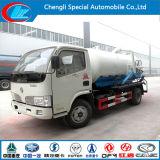 Dongfeng camion vide 4cbm chariot d'aspiration des eaux usées