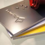 painel de alumínio do ACP da espessura de 5mm para a decoração Home ao ar livre