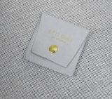 Bolsa de regalo personalizado nuevo Suede joyas Funda envolvente con Logo